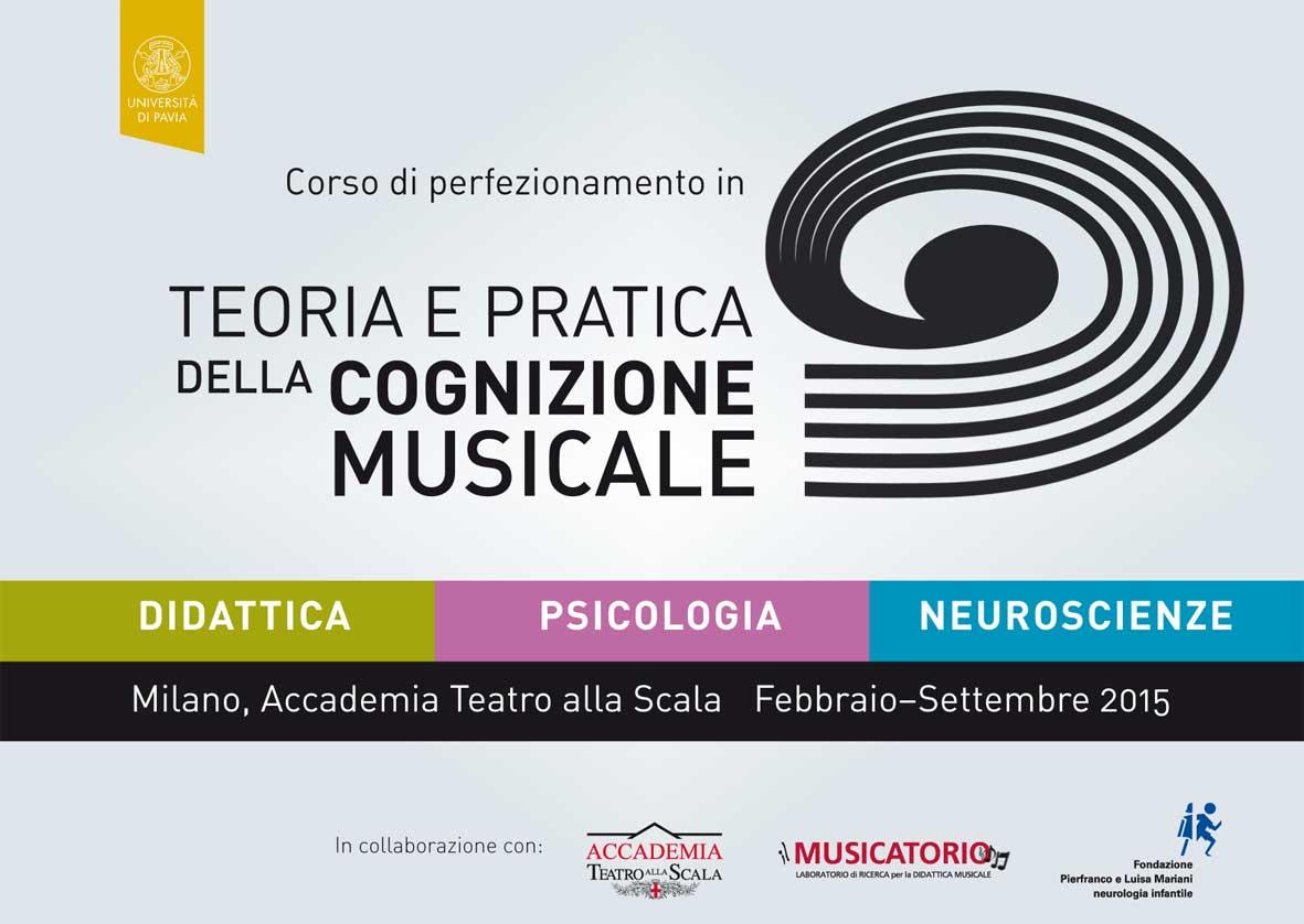 Corso di Perfezionamento in Teoria e Pratica della Cognizione Musicale: Didattica, Psicologia, Neuroscienze
