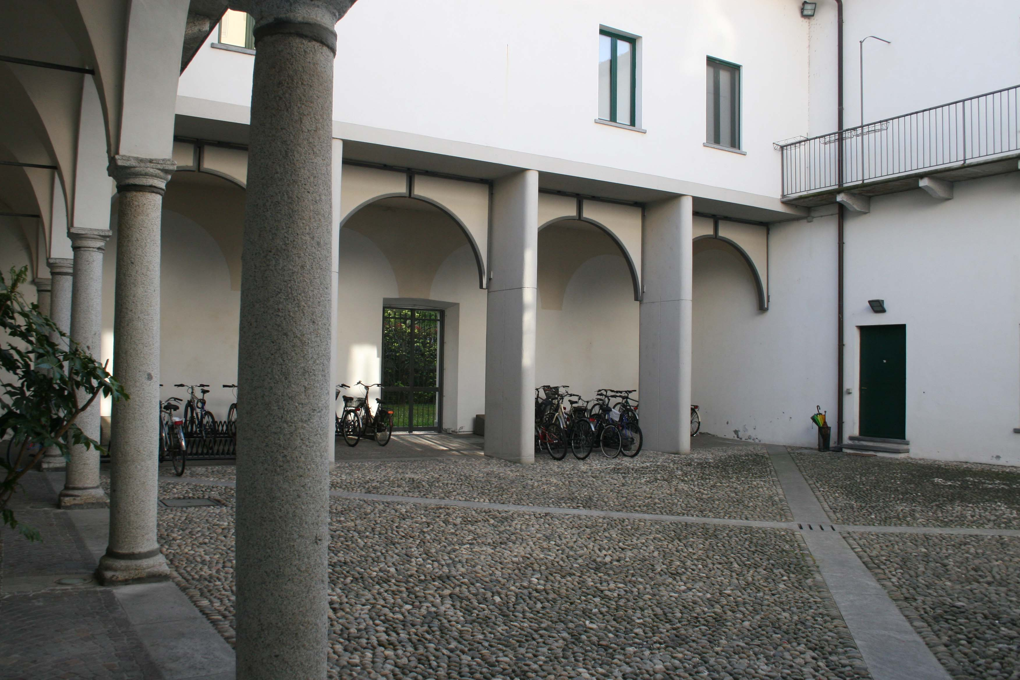 Collegio del Maino Cortile