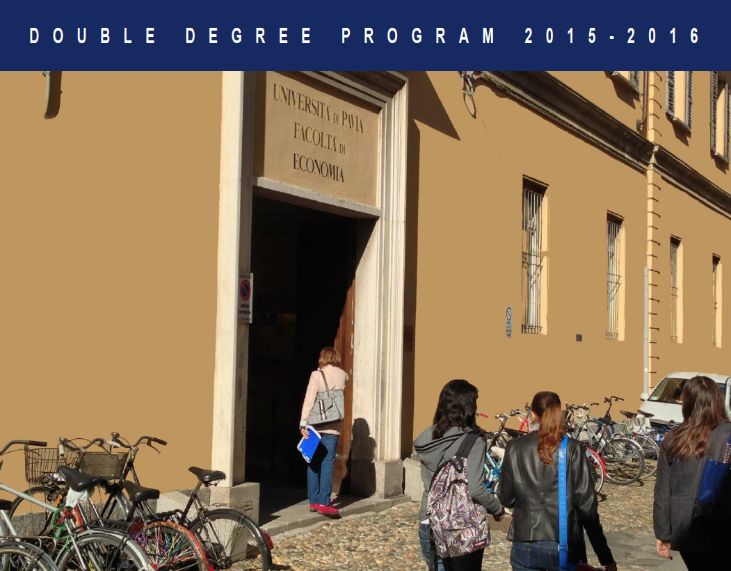Entro 9 gennaio – Double Degree Program 2015/2016