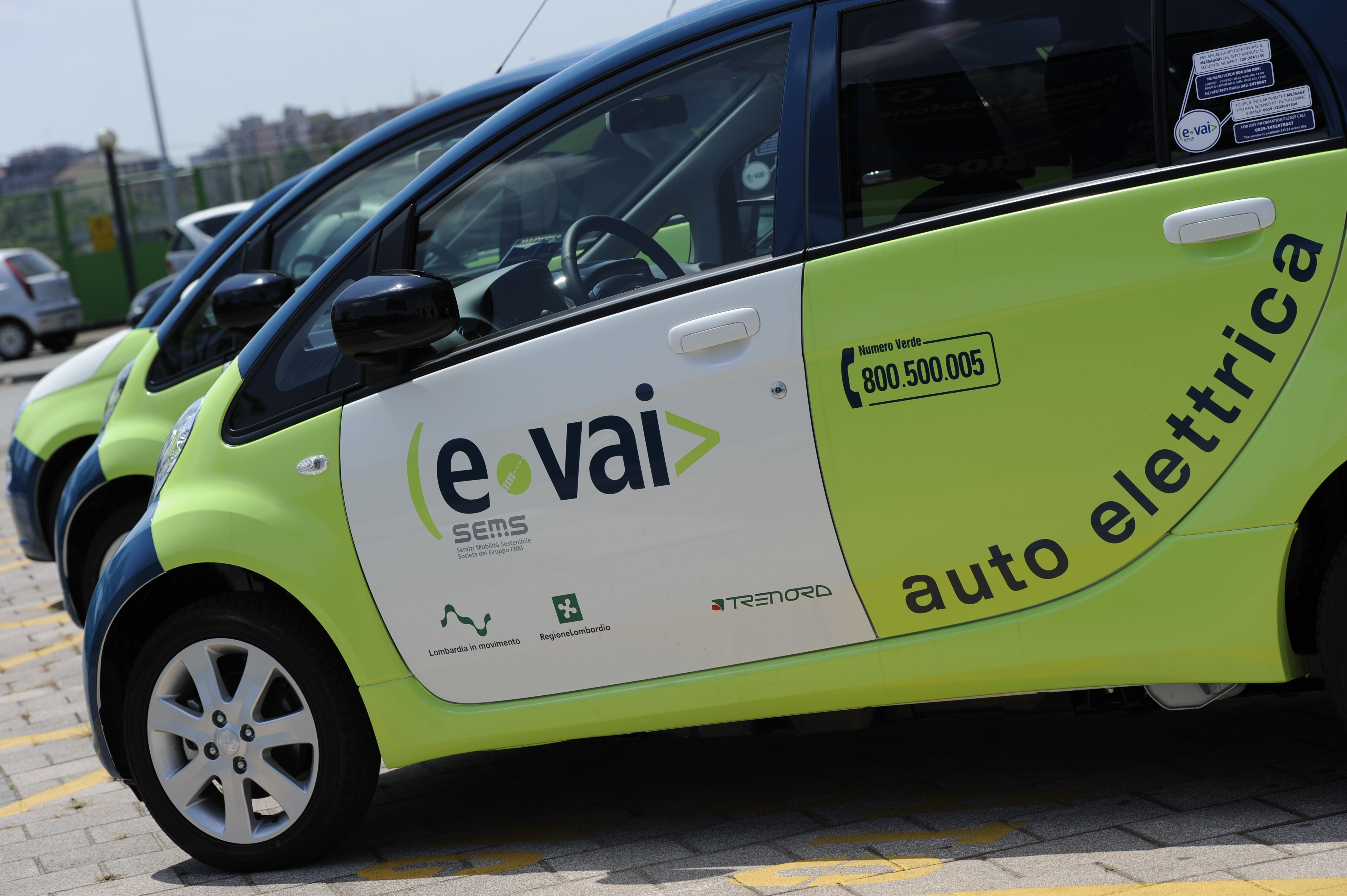 Car Sharing ecologico regionale E-Vai