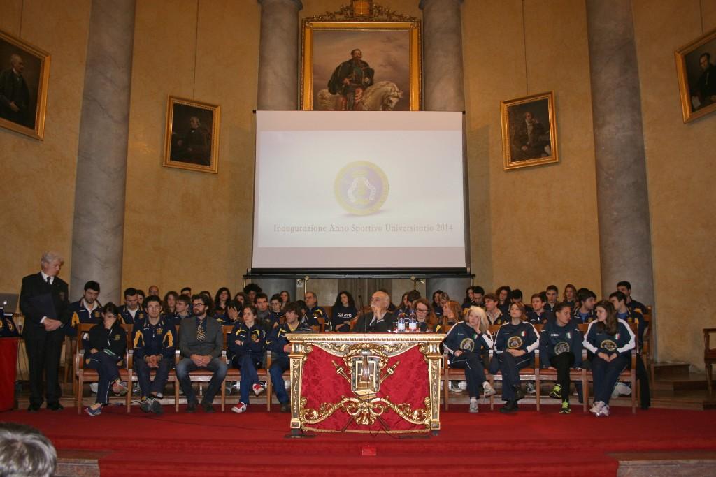 2 febbraio - Cerimonia di Inaugurazione dell'Anno Sportivo Universitario 2014/2015