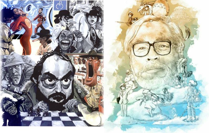 """20 aprile - Cineforum """"La società di Kubrick e Miyazaki: un confronto"""""""