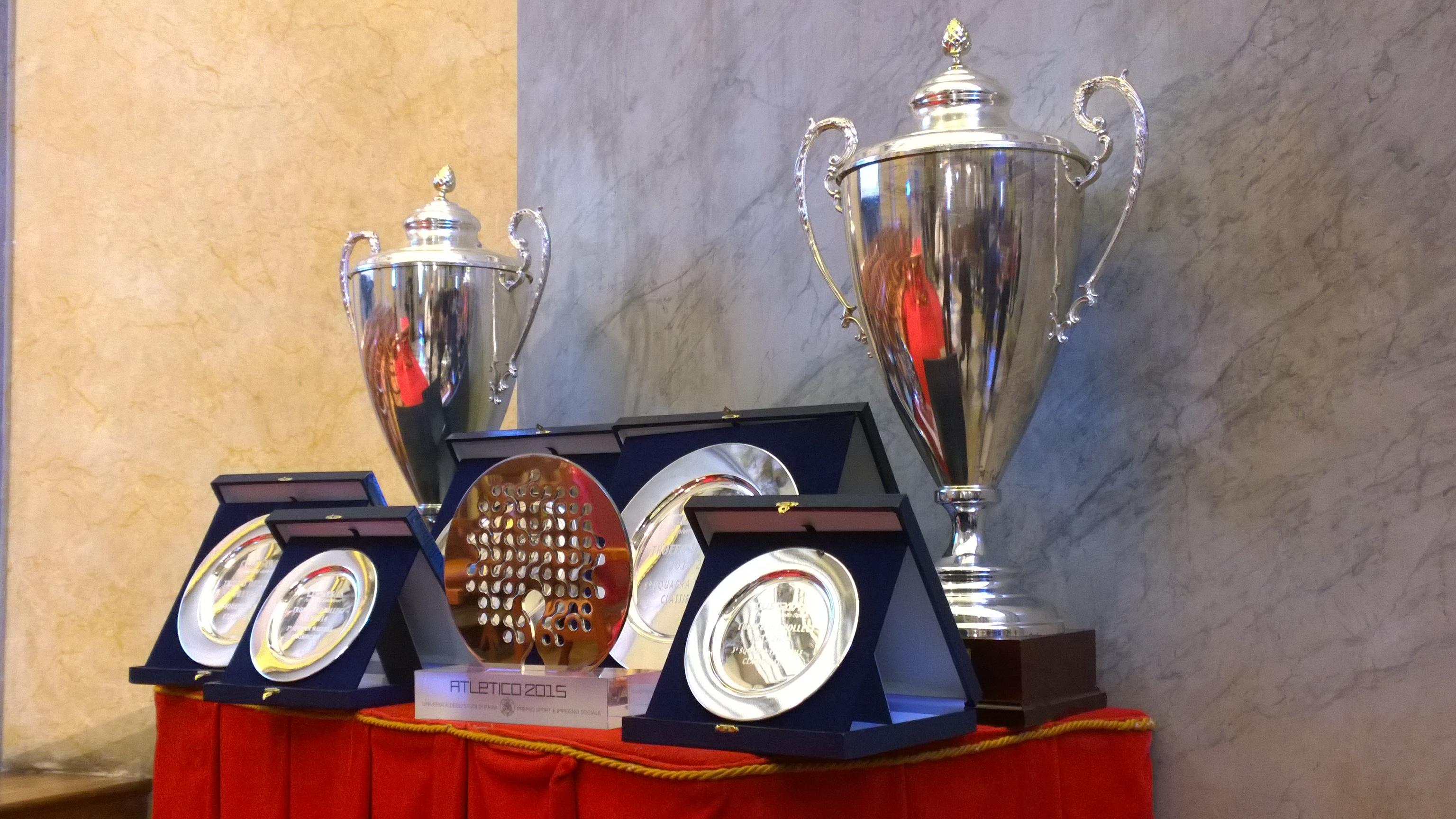 L'Università di Pavia premia i suoi migliori atleti (video)