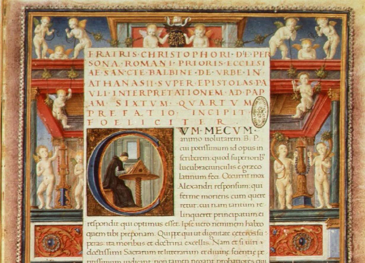 14 aprile - Il diritto dei retori. Percorsi di ricerca nelle declamationes minores attribuite a Quintiliano