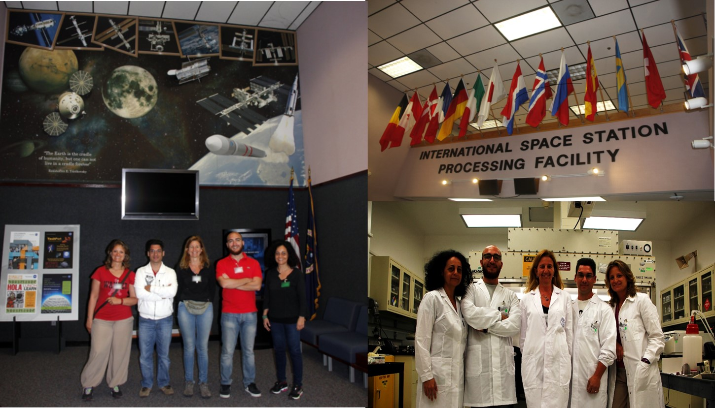 Final_NATO Team at KSC laboratories - NASA, Florida, USA