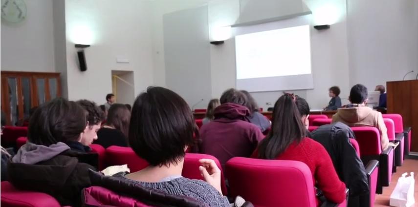 Studenti dell'Università di Pavia contro il riciclaggio di denaro (video)