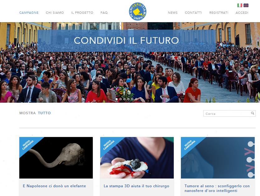 Tre nuovi progetti per il crowfunding dell'Università di Pavia (video)