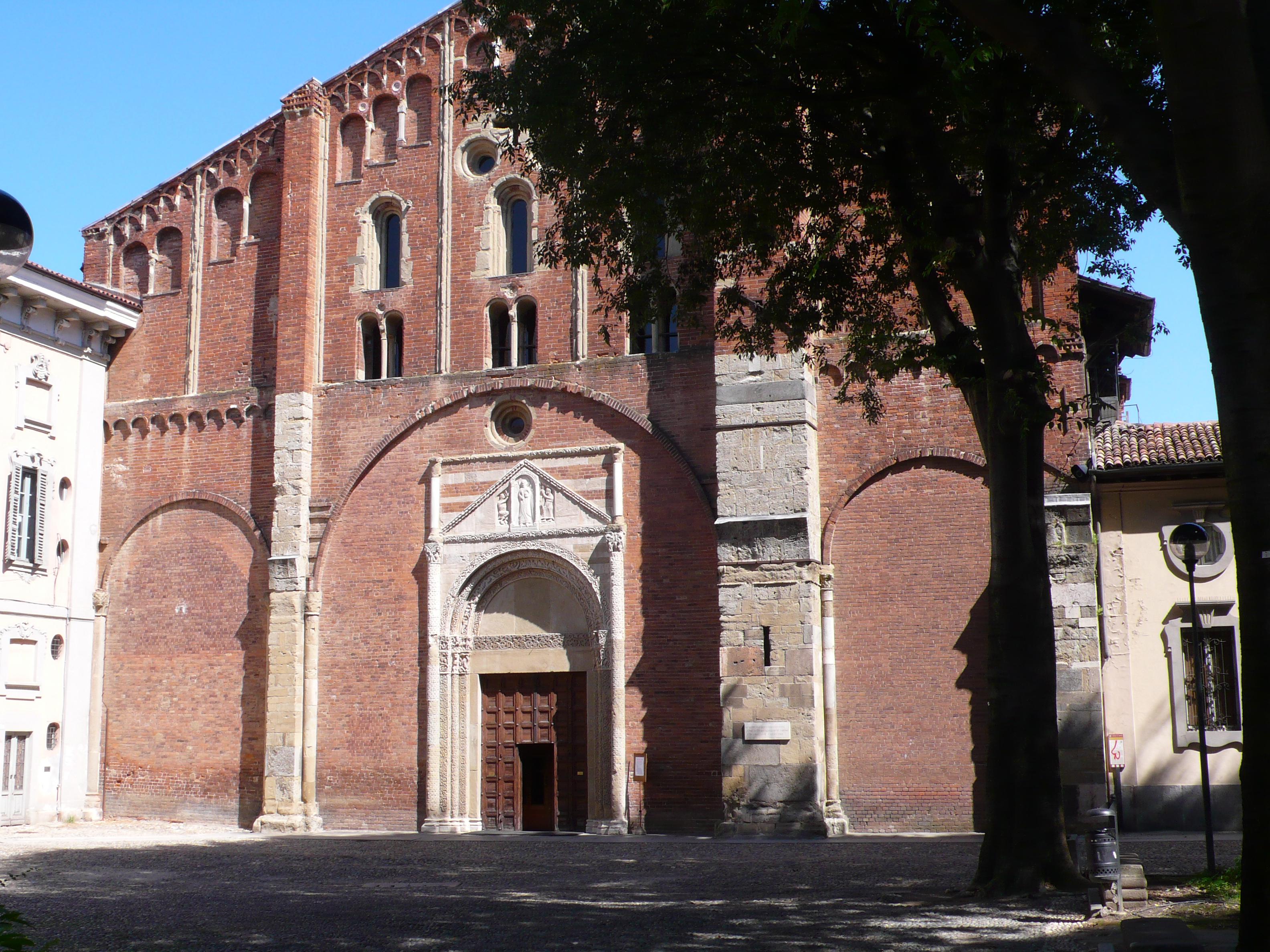 """29 marzo - Con il Touring """"Dalla più antica chiesa di Pavia, dei Santi Gervasio e Protasio, al Mausoleo di Boezio e Agostino in San Pietro in Ciel d'Oro"""