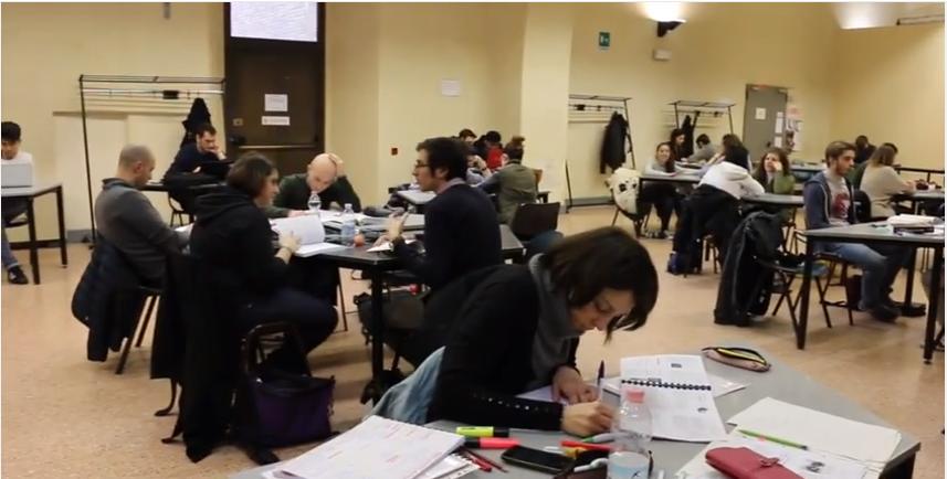 Dopo gli esami, ripresa delle lezioni all'Università di Pavia (parte 1)
