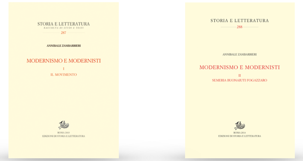 26 marzo – Modernismo e modernisti