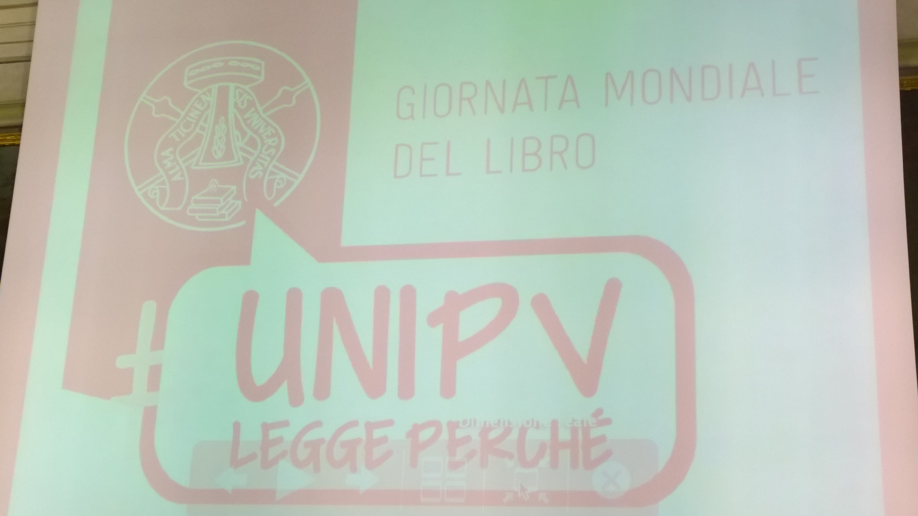 La Giornata Mondiale del Libro all'Università di Pavia (video)