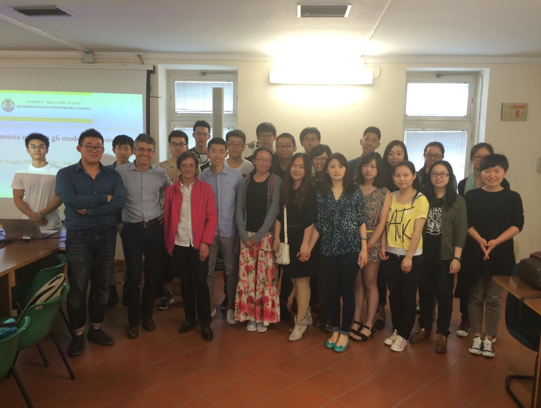 Economia incontra gli studenti cinesi