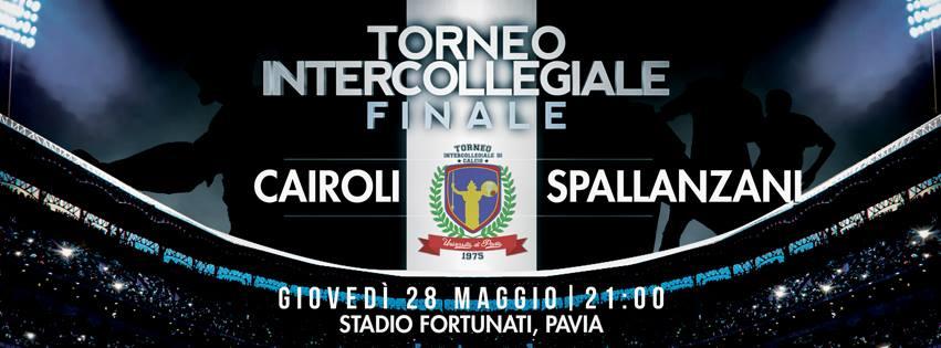 Trofeo Collegi: giovedì alle 21 la finale Spallanzani-Cairoli