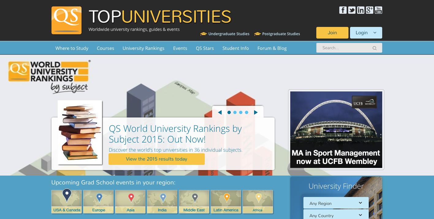 Classifiche internazionali: ottimi piazzamenti per l'Università di Pavia