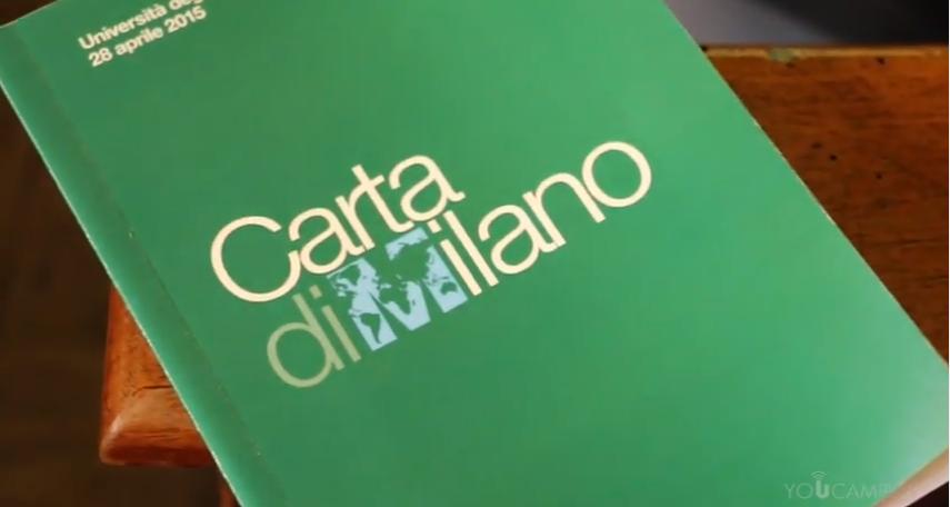 La Carta di Milano all'Università di Pavia (Video)