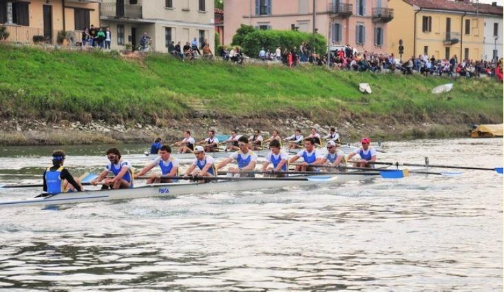 23 maggio - 53^a Regata Pavia-Pisa. Regata di Canottaggio in 8+
