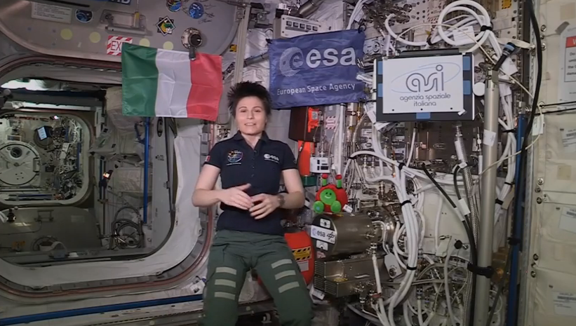AstroSamantha parla del progetto di ricerca dell'Università di Pavia