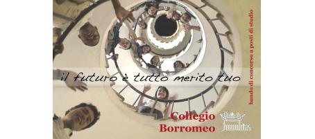 Collegio Borromeo: concorso di ammissione a.a. 2015-16