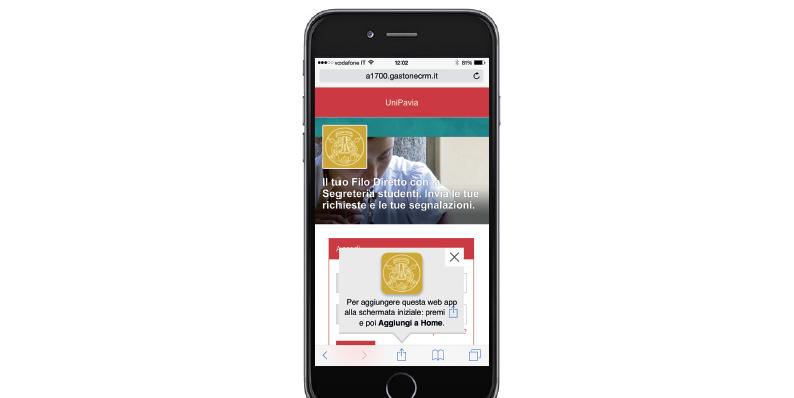 Da oggi UniPV è sempre più mobile