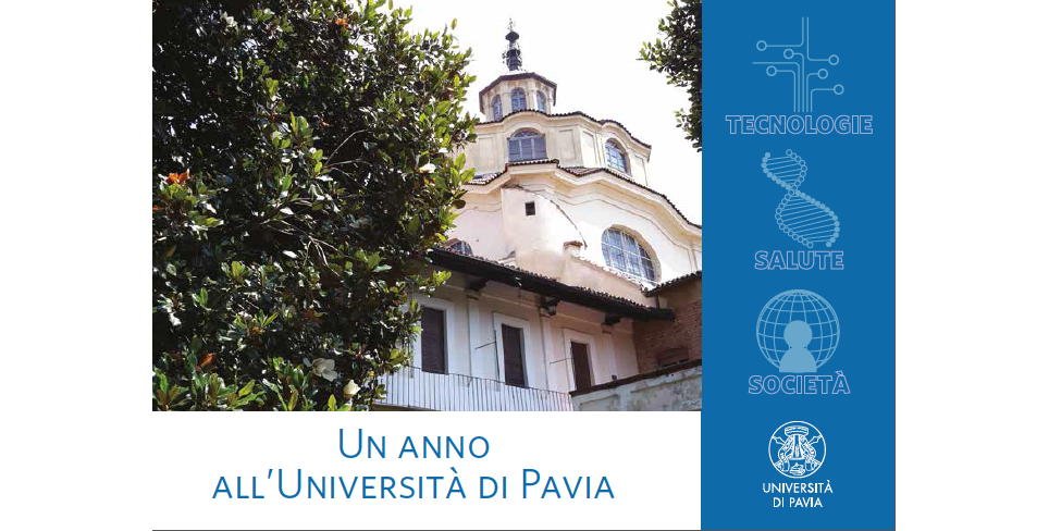 Un anno all'Università di Pavia