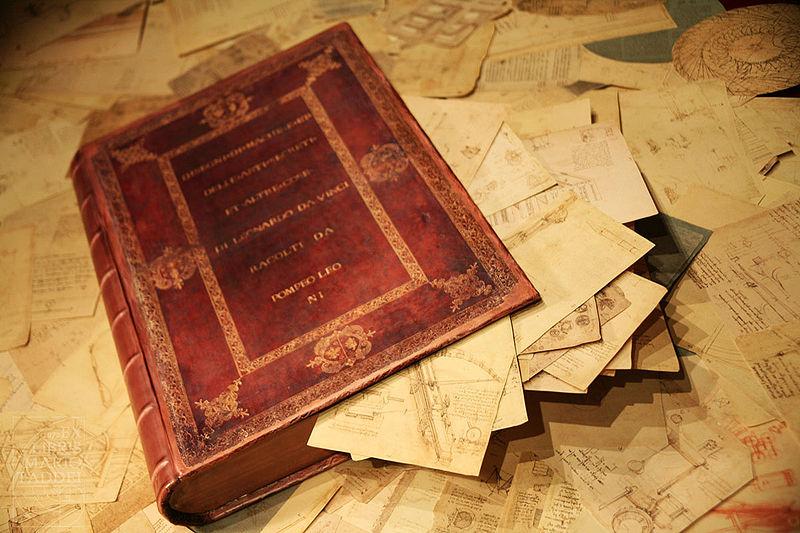 12 novembre - Il Codice Atlantico di Leonardo