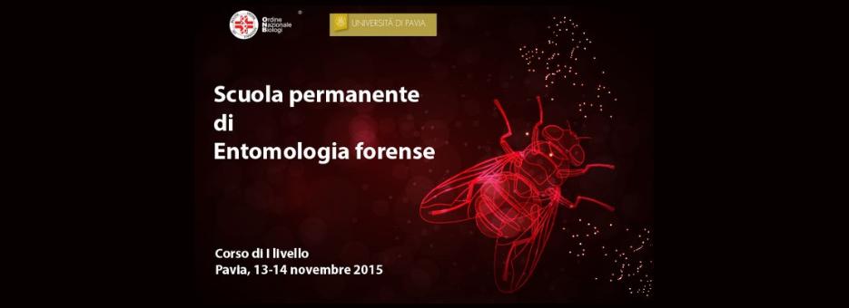 13-14 novembre - Scuola permanente di Entomologia forense. Parte il primo corso