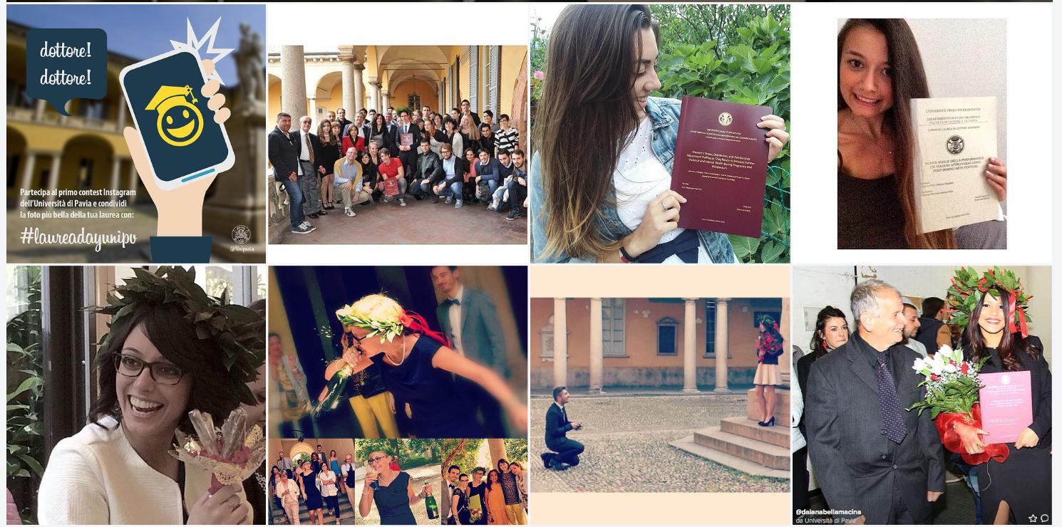 28 ottobre 2015 – Premiazione del primo Contest Instagram #laureadayunipv