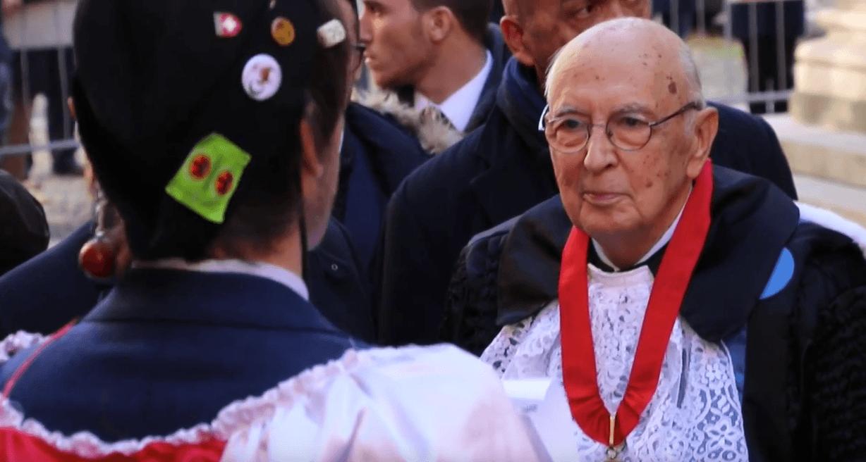 La laurea della Goliardia a Giorgio Napolitano (Video)