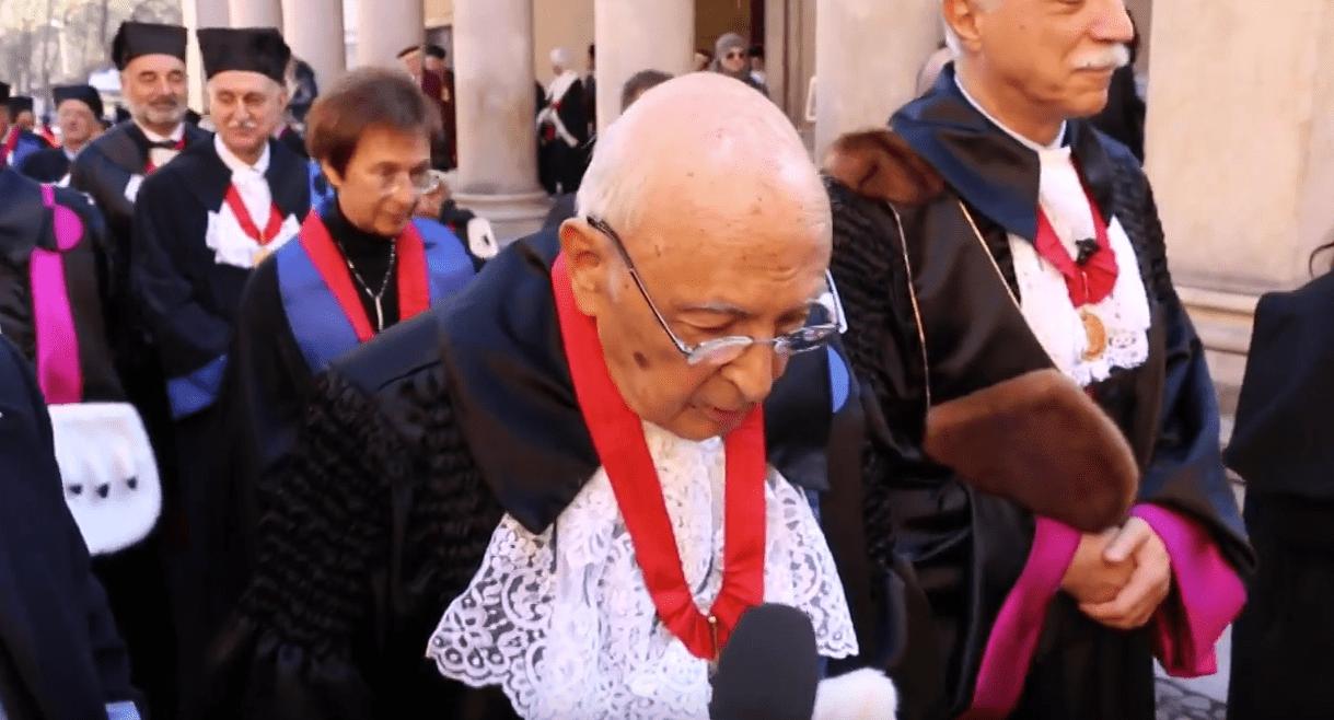 Il messaggio agli studenti del Presidente emerito Giorgio Napolitano (Video)