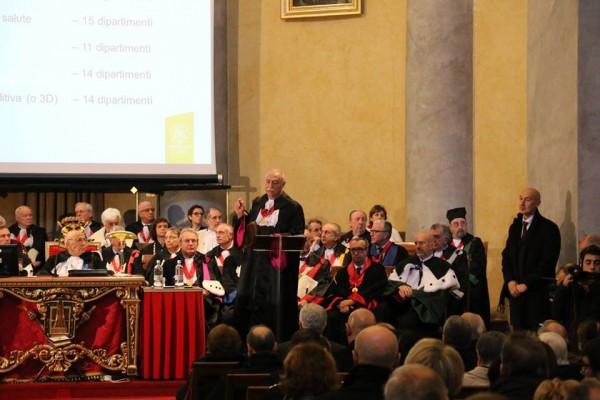 15 novembre – Inaugurazione Anno Accademico 2016/2017 dell'Università di Pavia
