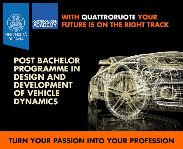Master in Design and Development of Vehicle Dynamics