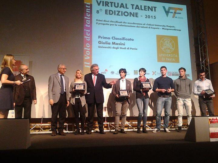 Ottimi risultati UNIPV al Virtual Talent Asseprim