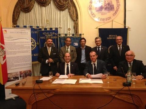 Accordo di collaborazione tra UNIPV, il Distretto Produttivo Meccatronica e il Consorzio Sustainable