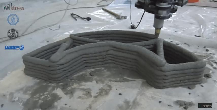 Blocchi di calcestruzzo come pezzi di lego. La stampante 3D entra nel mondo dell'edilizia