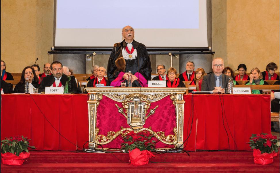 Cerimonia d'Inaugurazione dei Corsi di Dottorato di Ricerca 2015/2016 (Video)