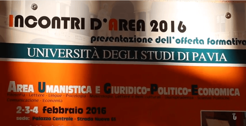Futuri studenti all'Università di Pavia (Video)