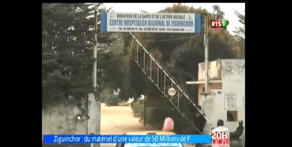 Comitato di Pavia e UNIPV al TG di RTS - Radiodiffusion Télévision Sénégalaise