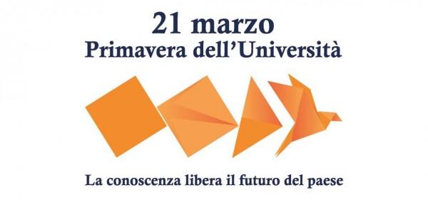 """UNIPV partecipa all'iniziativa """"Primavera delle Università"""""""