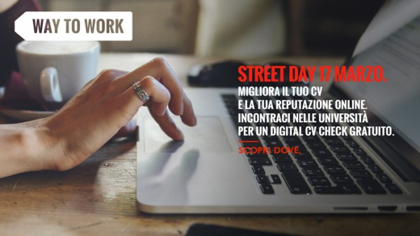 "17 Marzo 2016 - Adecco Way to Work: servizio di ""Digital CV check"" per studenti e laureati"