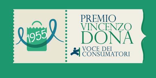 Premio Vincenzo Dona. Voce dei consumatori