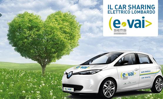 CAR SHARING E-VAI – Vantaggi riservati all'Università di Pavia