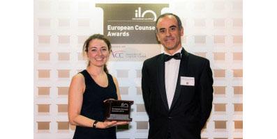 """Laureata UNIPV e Alunna del Collegio Ghislieri si aggiudica """"European Counsel Awards 2016"""" nella categoria """"Litigation"""""""