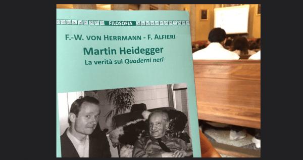 """Presentazione del libro """"Martin Heidegger. La verità sui Quaderni neri"""" (Video)"""