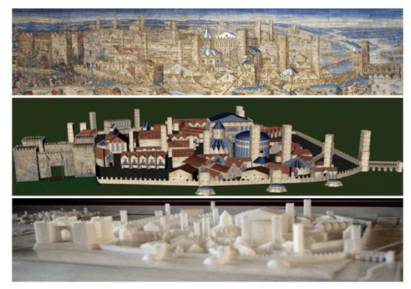 16 giugno - La ricostruzione virtuale di Pavia del 500
