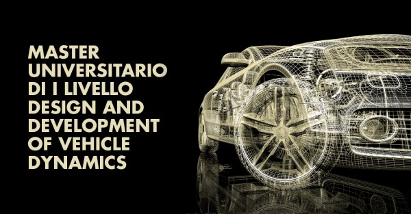 Master di I Livello: Design and Development of Vehicle Dynamics