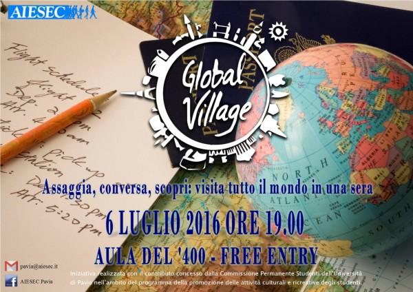 6 luglio – Global Village