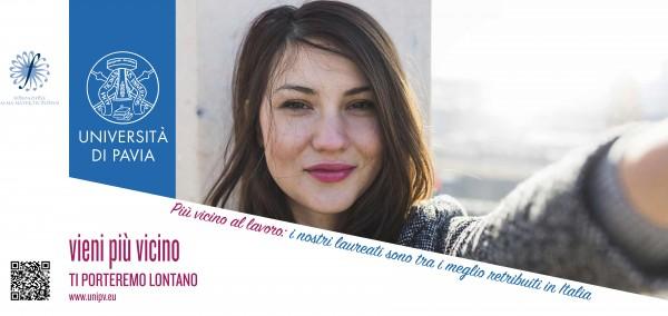 Vieni più vicino. La Fondazione Alma Mater Ticinensis lancia una campagna di promozione dell'Università di Pavia