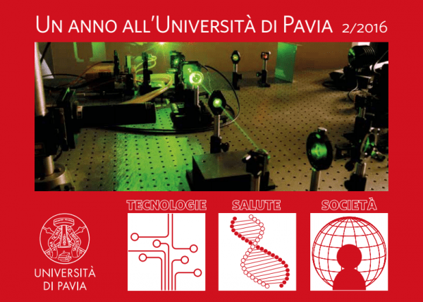 Un anno all'Università di Pavia 2016