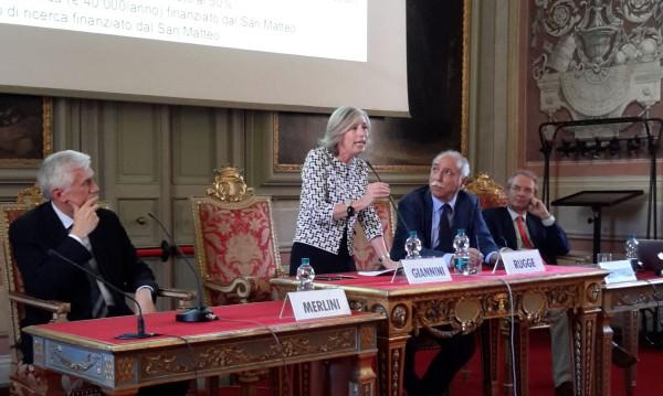 Il Ministro Stefania Giannini ha incontrato i docenti dell'Università di Pavia