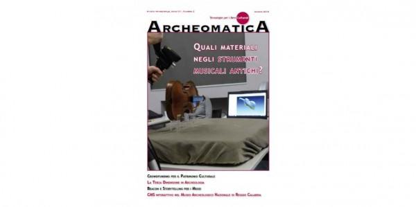 Laboratorio Arvedi di Diagnostica non invasiva di Cremona UNIPV sulla rivista Archeomatica